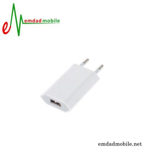 قیمت خرید آداپتور اصلی اپل 1 آمپر و 5 ولت - Apple 5W MD813 A1487