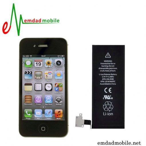 قیمت خرید باتری اصلی گوشی آیفون 4S به همراه آموزش تعویض