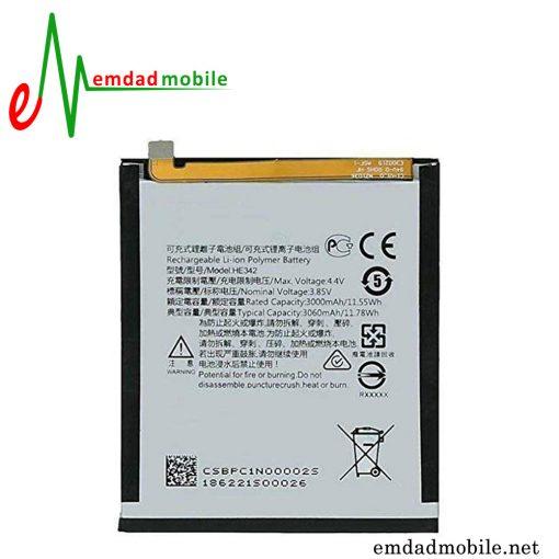 قیمت خرید باتری اصلی گوشی نوکیا Nokia 6.1 plus (Nokia X6) - HE342