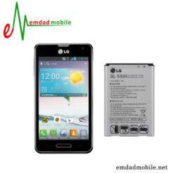 قیمت خرید باتری اصلی گوشی ال جی LG Optimus F3