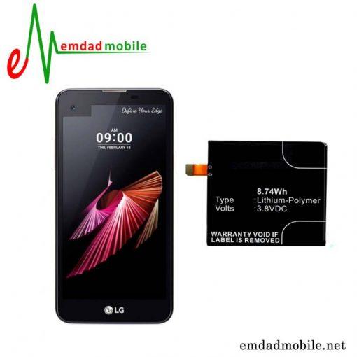 قیمت خرید باتری اصلی گوشی ال جی LG X Screen