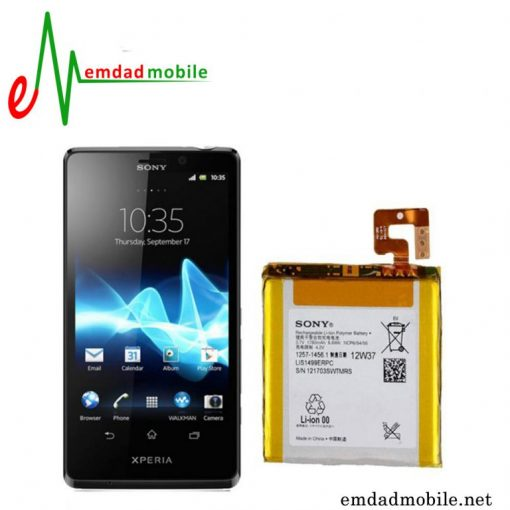 قیمت خرید باتری اصلی گوشی Sony Xperia T- LT30i با آموزش تعویض