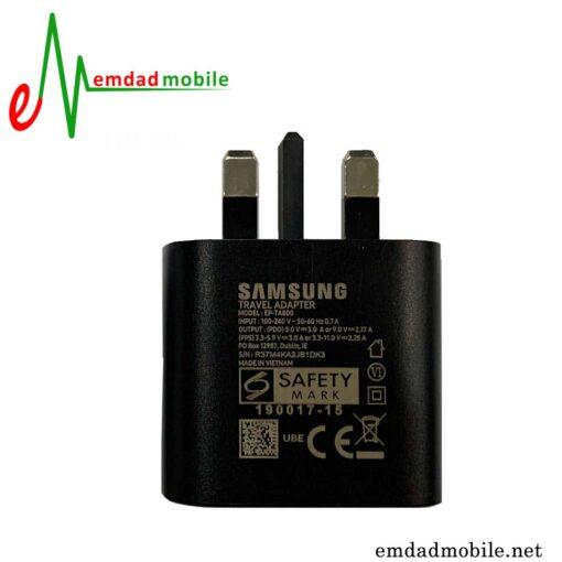 شارژر، کابل شارژ و آداپتور فست شارژ تایپ سی اصلی سامسونگ Galaxy S20 Plus