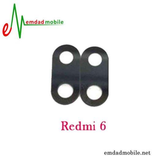 شیشه دوربین شیائومی Xiaomi Redmi 6