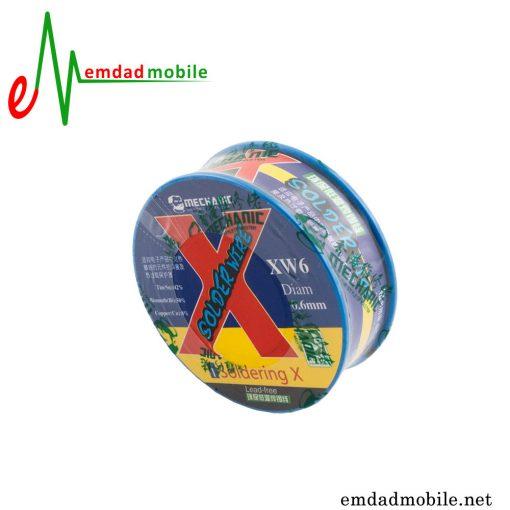 سیم لحیم بدون سرب مکانیک Mechanic XW6