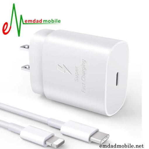 قیمت خرید شارژر، کابل شارژ و آداپتور اصلی آیفون iPhone 11 Pro Max