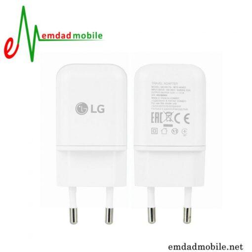 قیمت خرید شارژر اصلی الجی 3 آمپر و 5 ولت - LG MCS-N04ED