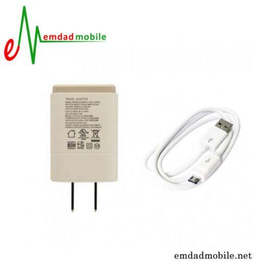 قیمت خرید شارژر اصلی ال جی 0.85 آمپر و 5 ولت - LG MCS 02WPE