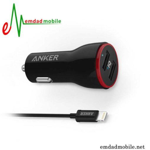 قیمت خرید شارژر فندکی آیفون مدل Anker Powerdrive 2
