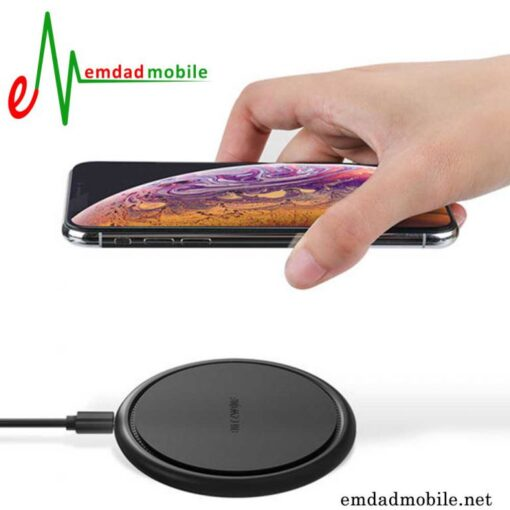 قیمت خرید شارژر وایرلس اصلی آیفون گوشی XS Max