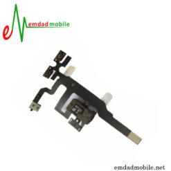 قیمت خرید فلت صدا و سوکت هندزفری آیفون iPhone 4s