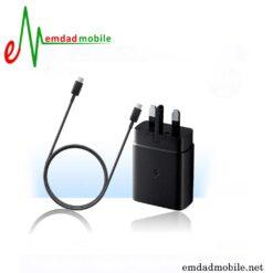 شارژر، کابل شارژ و آداپتور فست شارژ تایپ سی اصلی سامسونگ Galaxy A80