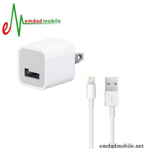 قیمت خرید شارژر اصلی آیفون iPhone 8