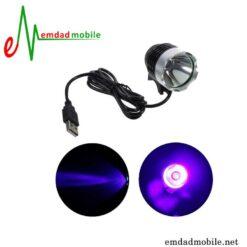 قیمت خرید لامپ یو وی 3 وات مخصوص تعمیر برد گوشی USB UV Lamp-