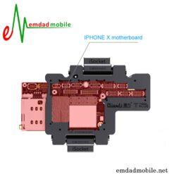 قیمت خرید سوکت مخصوص فیکس مادربرد گوشی آیفون X مدل QianLi