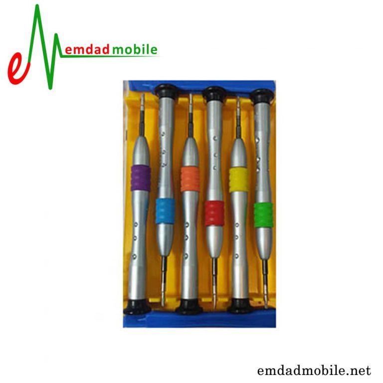قیمت خرید پک پیچ گوشتی 6 عددی تعمیرات موبایل مدل پاور Power