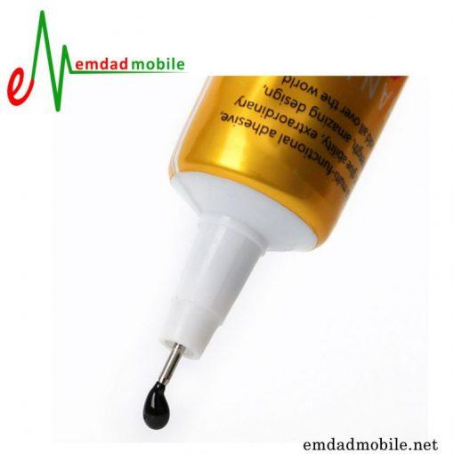 قیمت خرید چسب مشکی 15mL مخصوص تعمیرات موبایل Zhanlida T-7000-