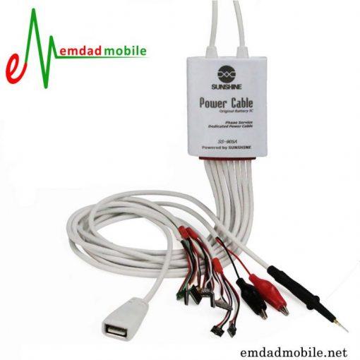 قیمت خرید کابل اتصال منبع تغذیه به گوشی آیفون مدل Sunshine SS_905A