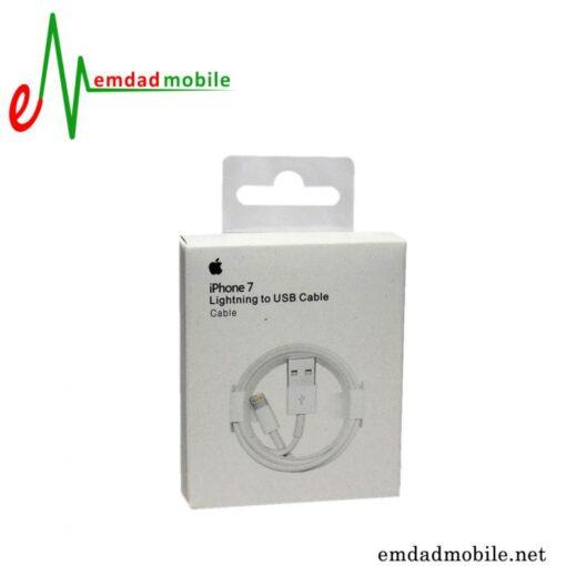 قیمت خرید کابل شارژ اصلی اپل (Apple iPhone 7 Lightning to USB Cable (1m