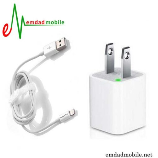 قیمت خرید کابل و شارژر اصلی گوشی iPhone 6S Plus