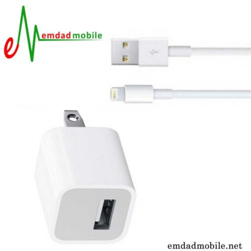 قیمت خرید کابل و شارژر اصلی گوشی iPhone SE