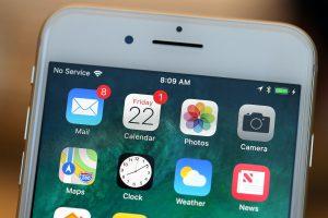 رفع مشکل پریدن آنتن گوشی آیفون اپل | No Service و Searching