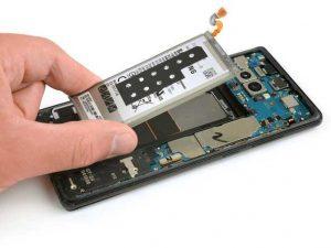 آموزش تعویض باتری سامسونگ Note 8