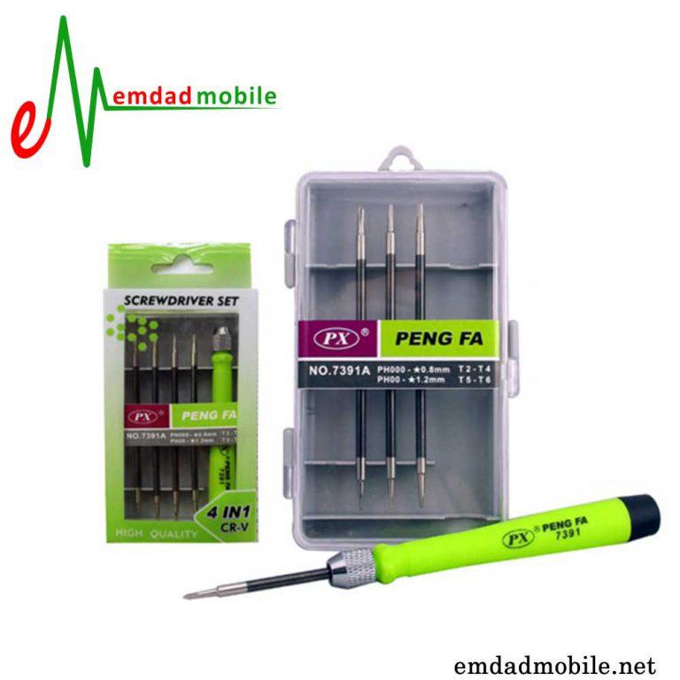 قیمت خرید پک پیچ گوشتی تعمیرات موبایل پنگفا مدل Pengfa 7391A