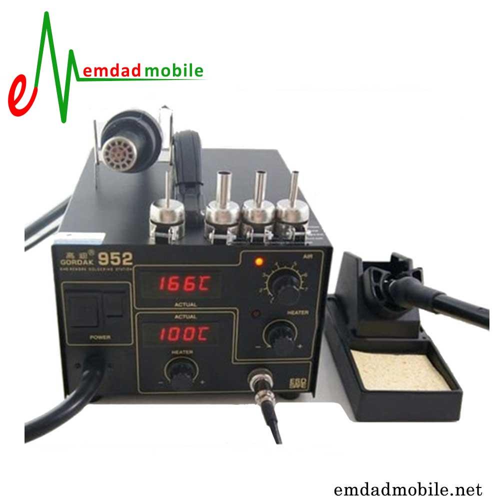 قیمت خرید هیتر و هویه تعمیرات موبایل مدل Gordak 952