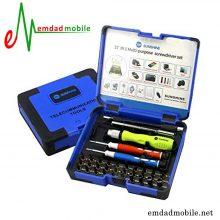 پک پیچ گوشتی 37 عددی تعمیرات موبایل SUNSHINE SS-5110