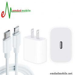 قیمت خرید شارژر، کابل شارژ و آداپتور اصلی آیفون iPhone 12 mini