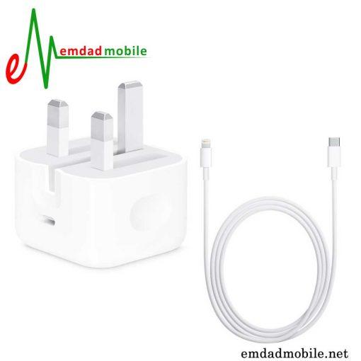 قیمت خرید شارژر، کابل شارژ و آداپتور اصلی آیفون iPhone 12