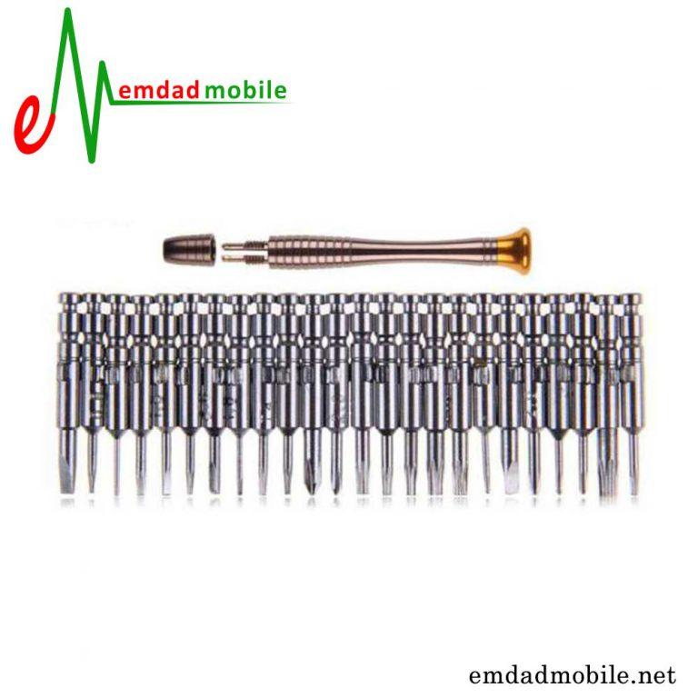 قیمت خرید پیچ-گوشتی-تعمیرات-موبایل-25-تکه-یاکسون-مدل-yaxun-yx-6025