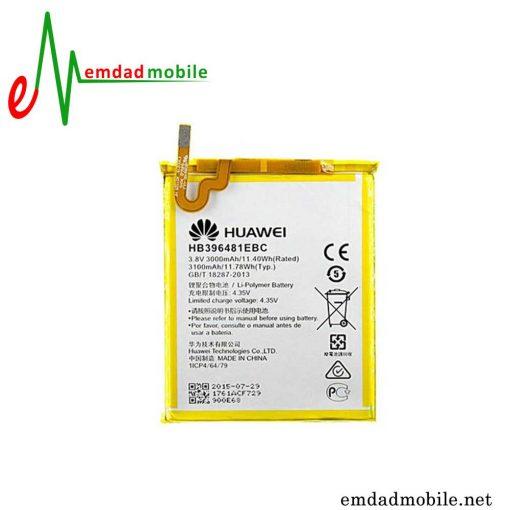 باتری اصلی گوشی هوآوی Huawei Honor 5X با آموزش تعویض