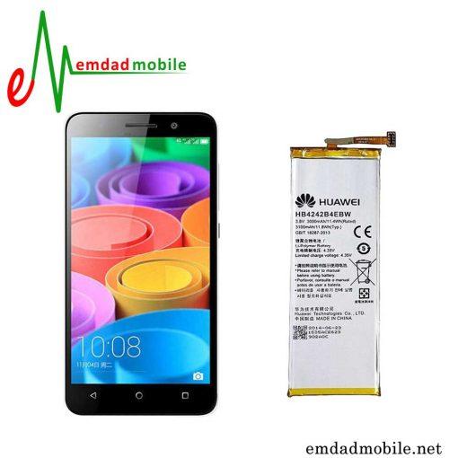 قیمت خرید باتری اصلی گوشی هوآوی Huawei Honor 4X