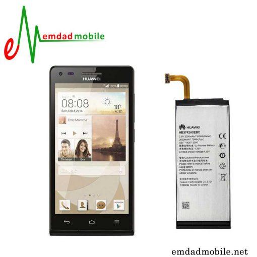قیمت خرید باتری اصلی گوشی هوآوی Huawei Ascend P7 mini