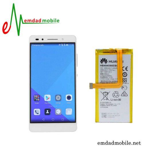 قیمت خرید باتری اصلی گوشی هوآوی Huawei Honor 7 با آموزش تعویض