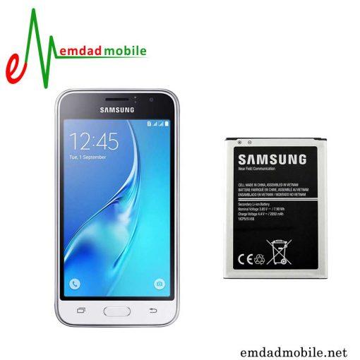باتری اصلی گوشی سامسونگ Galaxy J1 2016- j120