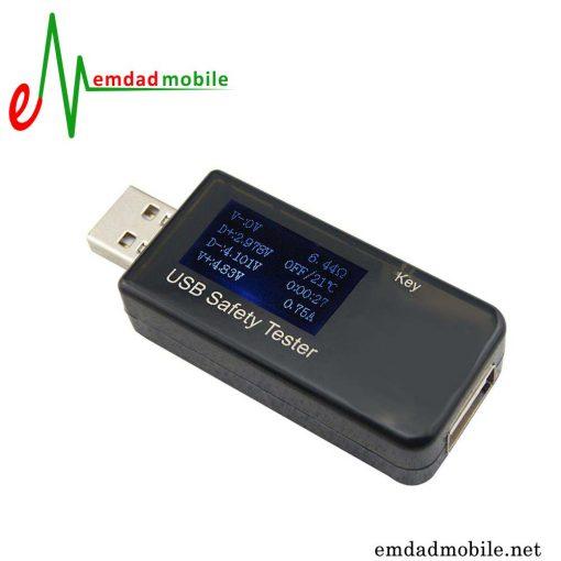 قیمت خرید تستر ولتاژ و آمپر شارژر USB مدل USB Safety Tester J7-T