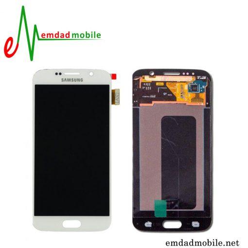 ال سی دی اصلی سامسونگ Galaxy S6 Duos با آموزش تعویض