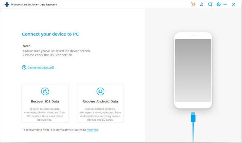 بازیابی اطلاعات گوشی با صفحه نمایش شکسته - 2