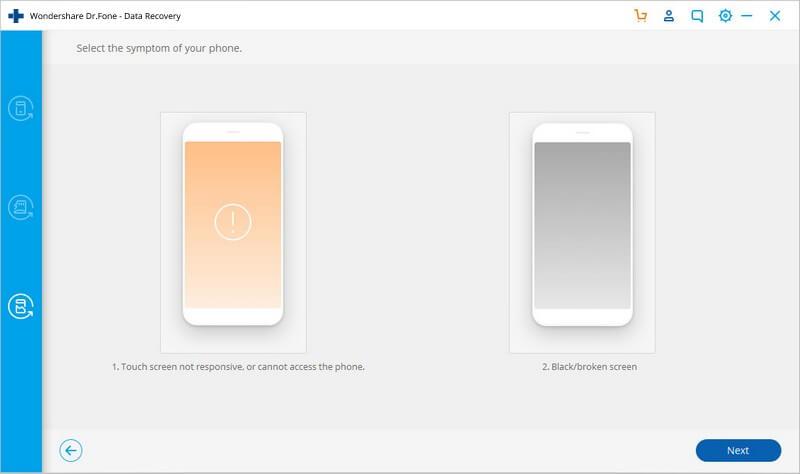 بازیابی اطلاعات گوشی با صفحه نمایش شکسته - 4