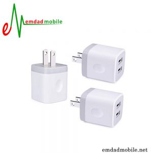 آداپتور شارژر اصلی اپل ایفون 1 آمپر و 5 ولت - Apple 5W MD810 A1385
