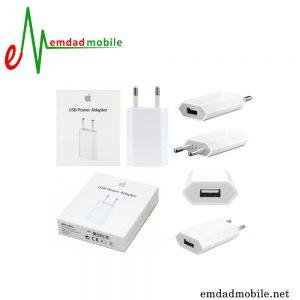 شارژر اصلی اپل ایفون 1 آمپر و 5 ولت - Apple MD813
