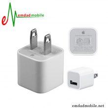 شارژر اصلی اپل 1 آمپر و 5 ولت - Apple MD810