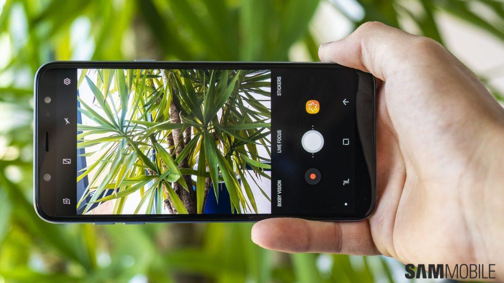 دوربین اصلی سامسونگ گلکسی (A6 Plus (2018