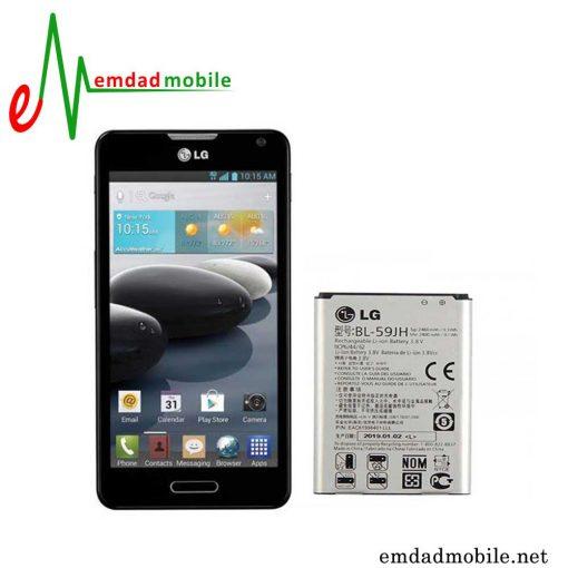 قیمت خرید باتری اصلی گوشی ال جی LG Optimus F6