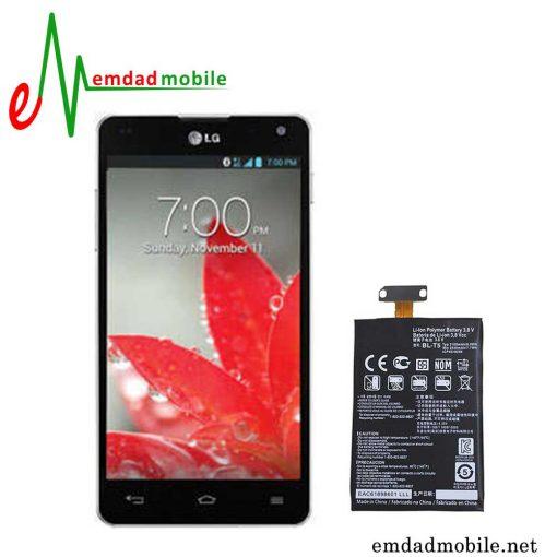 قیمت خرید باتری اصلی گوشی ال جی Optimus G E975 - BL-T5