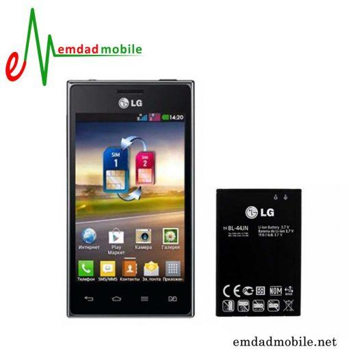 قیمت خرید باتری اصلی گوشی ال جی LG Optimus L5 dual E615 - BL-44JN