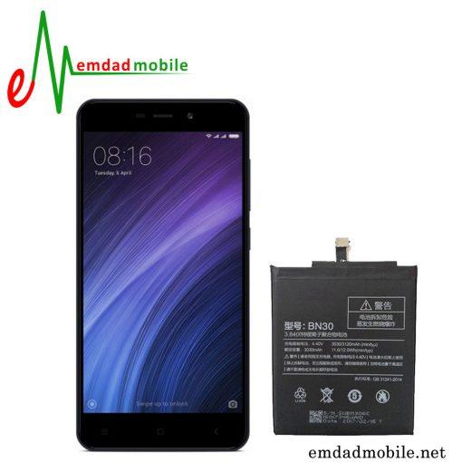 قیمت خرید باتری اصلی گوشی شیائومی مدل Redmi 4A-BN30